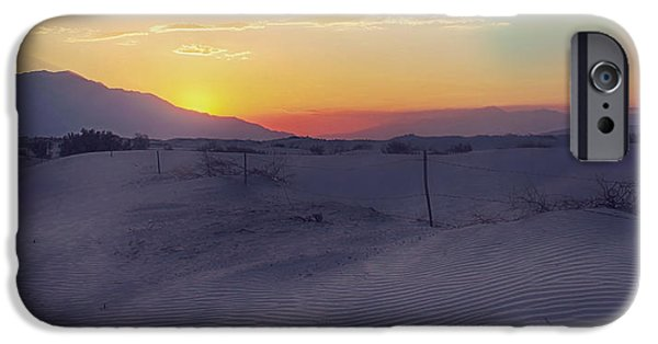 Sand Dunes iPhone Cases - Wanderers iPhone Case by Laurie Search