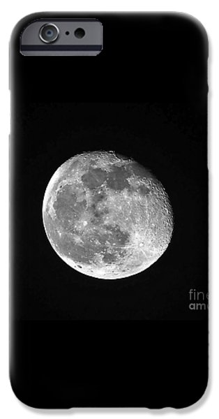 Waning Pink Moon iPhone Case by Al Powell Photography USA