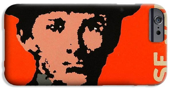 Relief Print iPhone Cases - Wanted iPhone Case by David Honaker