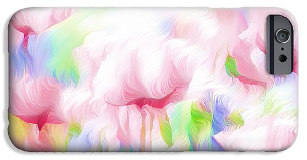Business iPhone Cases - War Of The Pink Winds  iPhone Case by Georgiana Romanovna