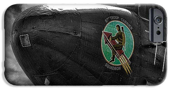 Planes Photographs iPhone Cases - War Planes iPhone Case by Martin Newman