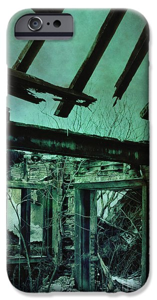 Overruns iPhone Cases - War Torn iPhone Case by Margie Hurwich