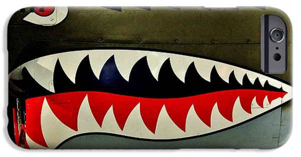 Warhawk iPhone Cases - Warhawk iPhone Case by Benjamin Yeager