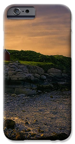 Warm Nubble Dawn iPhone Case by Joan Carroll