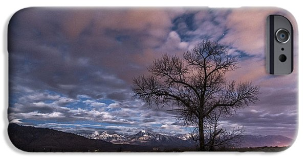 Road Travel iPhone Cases - Warm Springs Rd. iPhone Case by Cat Connor