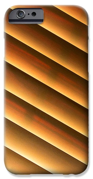 Shade Cover iPhone Cases - Warm Sunlight iPhone Case by Heidi Smith