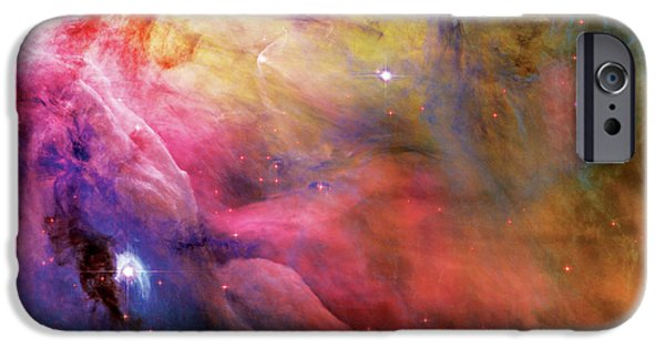 Pastel iPhone Cases - Warmth - Orion Nebula iPhone Case by The  Vault - Jennifer Rondinelli Reilly