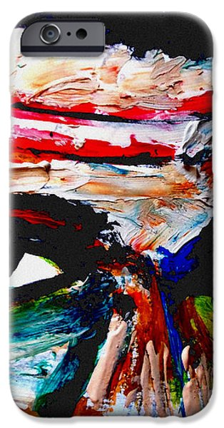 warpaint iPhone Case by David Rogers