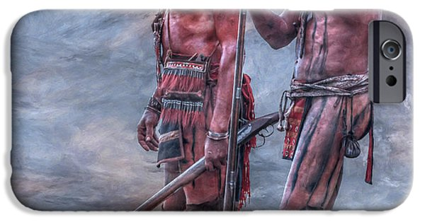 Narrative iPhone Cases - Warriors iPhone Case by Randy Steele