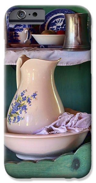 Wash Basin Still Life iPhone Case by Nikolyn McDonald