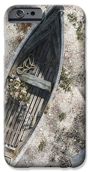 Paddle iPhone Cases - Washed Ashore iPhone Case by Cynthia Decker