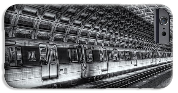Brutalism iPhone Cases - Washington DC Metro Station VI iPhone Case by Clarence Holmes