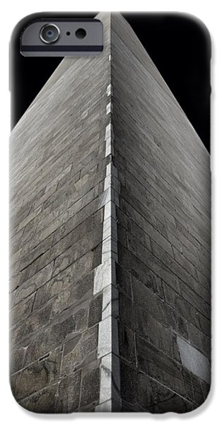 Strong America iPhone Cases - Washington Monument iPhone Case by Marianna Mills