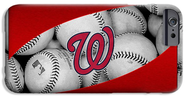 Recently Sold -  - Baseball Stadiums iPhone Cases - Washington Nationals iPhone Case by Joe Hamilton
