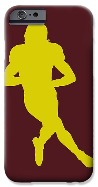 Griffin iPhone Cases - Washington Redskins Robert Griffin iPhone Case by Joe Hamilton