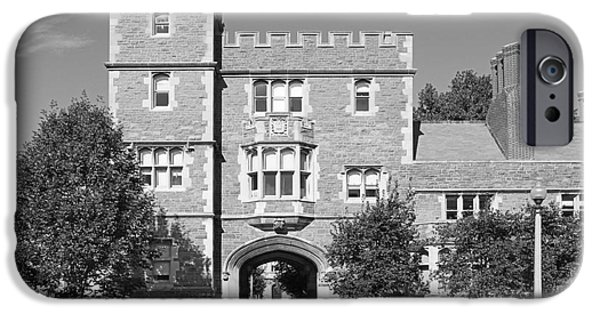 Diploma iPhone Cases - Washington University Mc Millen Hall iPhone Case by University Icons