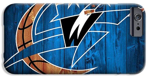 D.c. Mixed Media iPhone Cases - Washington Wizards Barn Door iPhone Case by Dan Sproul