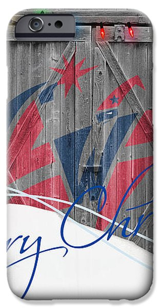 WASHINGTON WIZARDS iPhone Case by Joe Hamilton