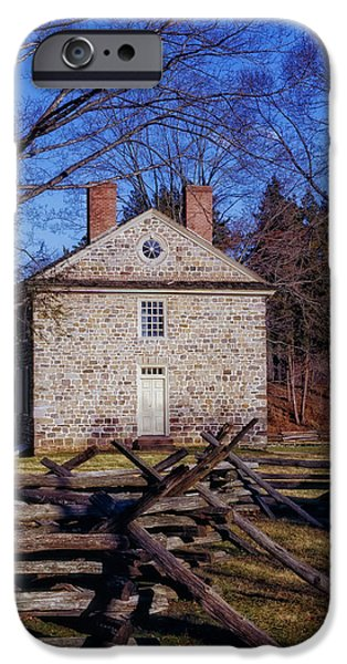 American Revolution Photographs iPhone Cases - Washingtons Headquarters - Valley Forge iPhone Case by Mountain Dreams