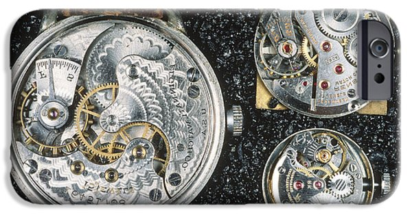Mechanism iPhone Cases - Watch Mechanisms iPhone Case by Gregory G. Dimijian