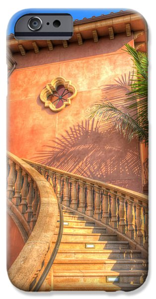 Watch Your Step And Welcome iPhone Case by Heidi Smith