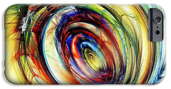 Shape iPhone Cases - Watchful Eye iPhone Case by Anastasiya Malakhova