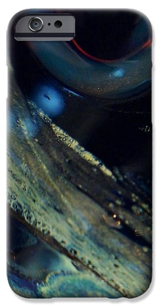 Close Up Glass iPhone Cases - Watchful iPhone Case by Gaby Tench