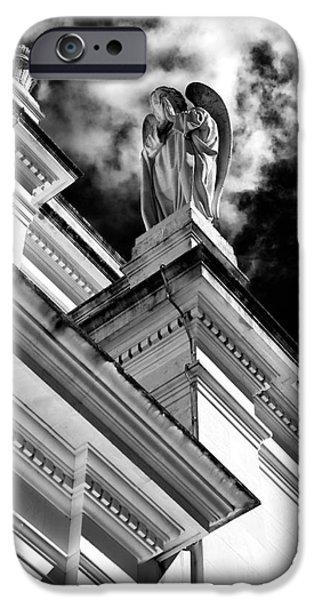 Watching Over Fatima iPhone Case by John Rizzuto