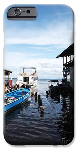Water Alley in Bocas Town iPhone Case by John Rizzuto