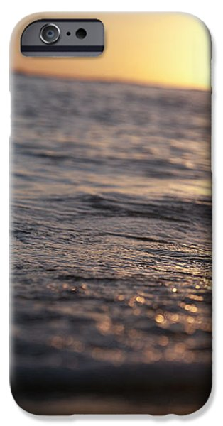 Water at Sunset iPhone Case by Brandon Tabiolo