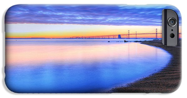 Annapolis Maryland iPhone Cases - Water Colors iPhone Case by JC Findley
