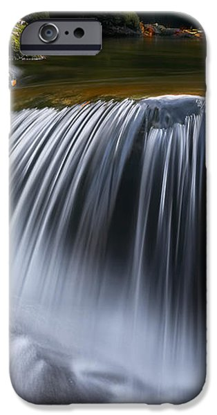 Water Falling Great Smoky Mountains iPhone Case by Rich Franco