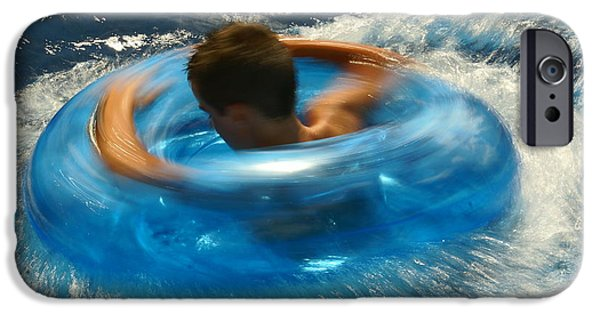 Action Shot iPhone Cases - Water Fun 01 iPhone Case by Aimelle