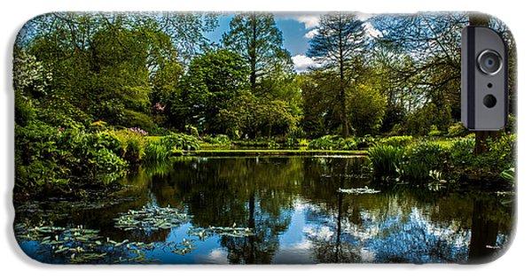 Garden Photographs iPhone Cases - Water Garden iPhone Case by Martin Newman