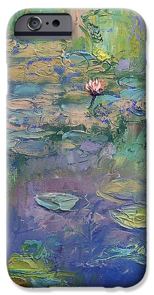 Water Garden iPhone Case by Michael Creese