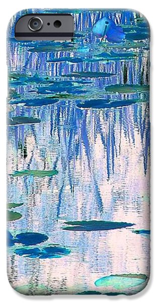 Water Lilies iPhone Case by Chris Anderson