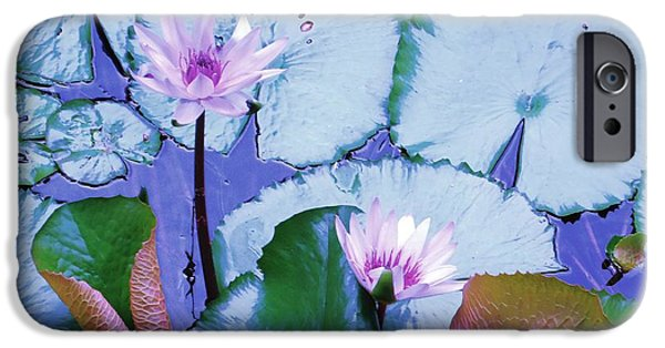 Ann Johndro-collins iPhone Cases - Water Lily II iPhone Case by Ann Johndro-Collins