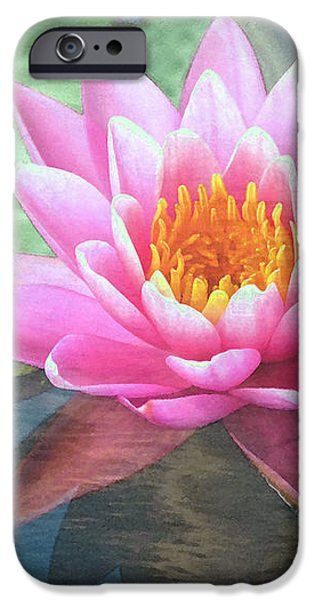 Water Lily iPhone Case by Sandi OReilly