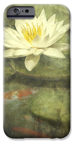 Flora Photographs iPhone Cases - Water Lily iPhone Case by Scott Norris