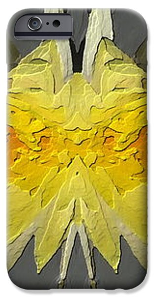 Water Lily Unleashed 4 iPhone Case by Tim Allen