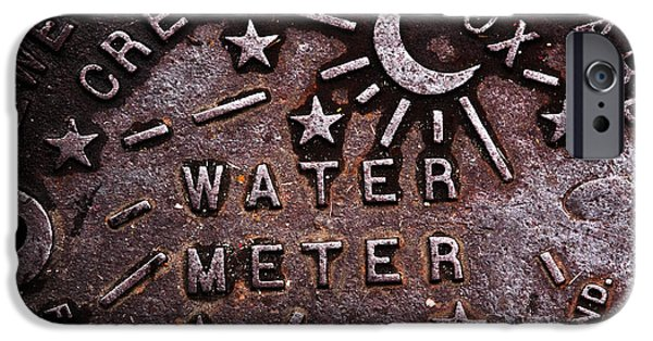 John Rizzuto iPhone Cases - Water Meter iPhone Case by John Rizzuto