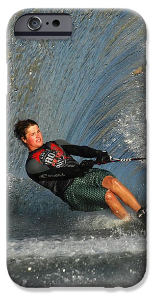 Water Skiing Magic of Water 13 iPhone Case by Bob Christopher