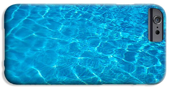 Abstractions iPhone Cases - Water Swimming Pool Mexico iPhone Case by Panoramic Images