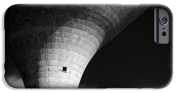 Dave iPhone Cases - Water Tower iPhone Case by Dave Bowman