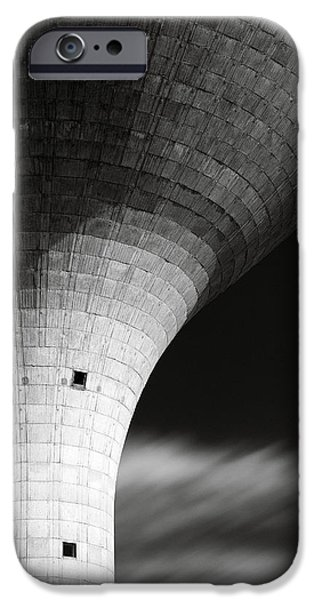 Water Tower iPhone Case by Dave Bowman