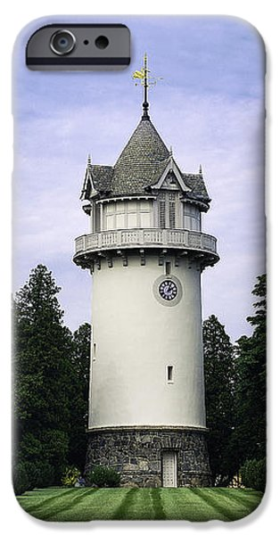 Water Tower Folly iPhone Case by John Greim