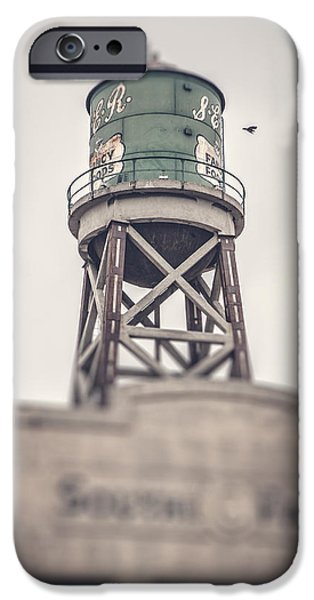 Dirty iPhone Cases - Water Tower iPhone Case by Yo Pedro
