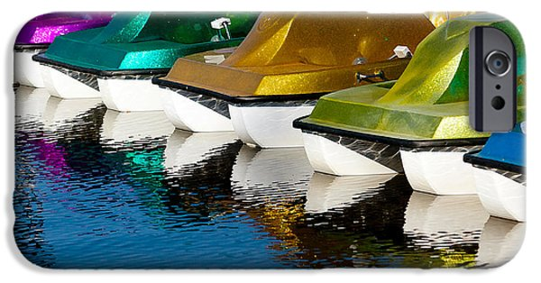 Toy Boat iPhone Cases - Water Toys iPhone Case by Art Block Collections