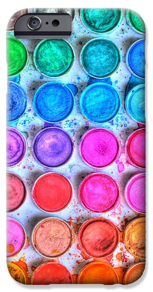 Painter Photographs iPhone Cases - Watercolor Delight iPhone Case by Heidi Smith