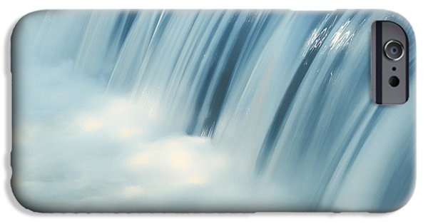 Sparking iPhone Cases - Waterfall Blues iPhone Case by Mountain Dreams